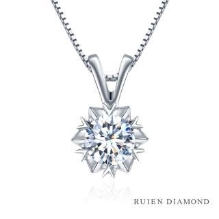 【RUIEN DIAMOND 瑞恩鑽石】GIA30分 D VVS2 3EX 鑽石項墜(18K白金 星光 RN39)