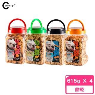 【Canary】超大盛的犬用點心餅 615g(4入組)