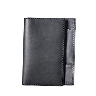 【LIEVO】EASY - 真皮感應護照套(ES02-CB經典黑)
