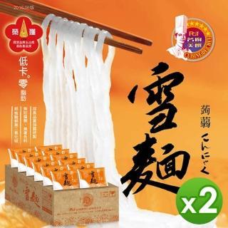 【名廚美饌】蒟蒻雪麵2箱組(12入/箱)