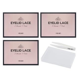 韓國免膠水隱形無痕蕾絲雙眼皮貼