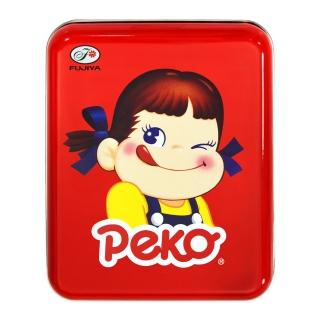 【不二家】Peko表情牛奶糖罐-眨眼40g