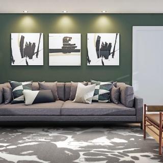 【山德力】ESPRIT系列-機織地毯-寧和靜美200x290cm(輕奢 現代風格 客廳 臥室 餐廳 書房 大地毯 生活美學)