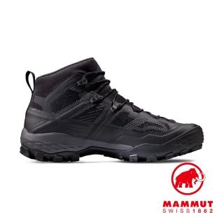 【Mammut 長毛象】Ducan Mid GTXR 中筒登山健行鞋 男款 黑/鈦金灰 #3030-03540