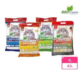 【ECO艾可】豆腐貓砂《原味/綠茶/玉米》7L(6入1箱)