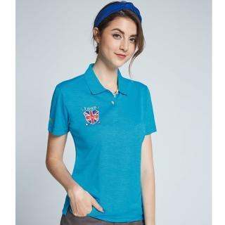 【Londa Polo】炫花布吸濕排汗女版短POLO衫(P196203)