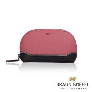 【BRAUN BUFFEL 小金牛】台灣總代理 蘇珊系列萬用包-粉紅色(BF620-720-DR)