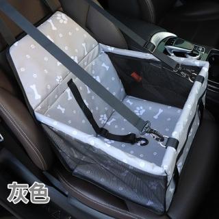 【寵物愛家】狗狗貓咪寵物車用防水耐磨安全座椅(寵物汽車用品)