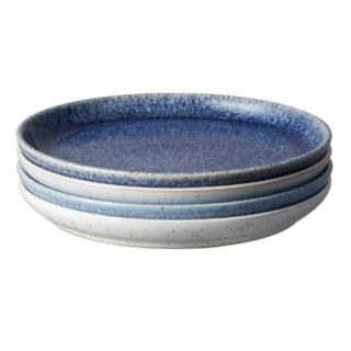 【DENBY】藍色藝匠4色(早餐邊盤禮盒)