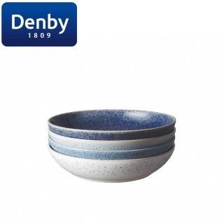 【DENBY】藍色藝匠4色(麵糰碗禮盒)