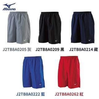 【MIZUNO 美津濃】五色背部口袋路跑短褲 J2TB8A02XX(組)(短褲)