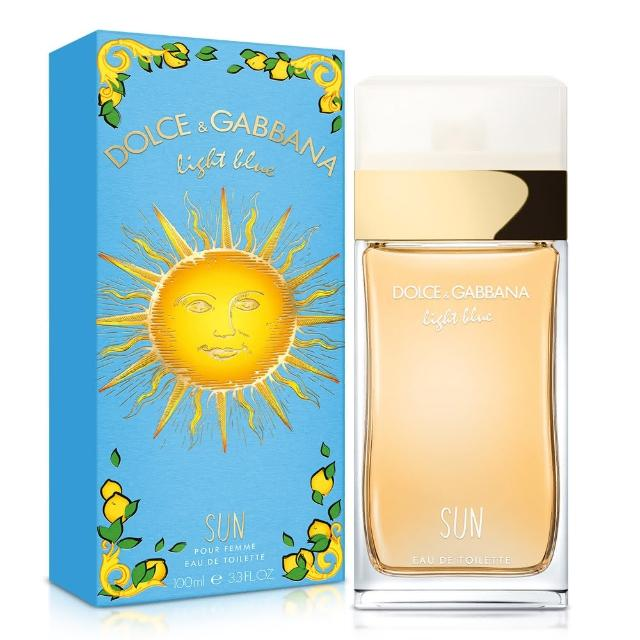 【D&G】Light Blue Sun Woman 陽光夏日女性淡香水(100ml)