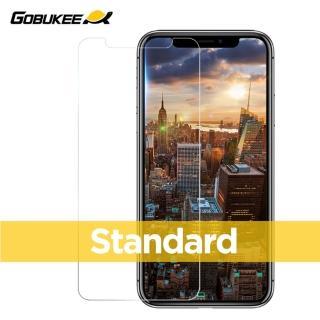 【Gobukee】Gobukee iPhone XS/XSMAX/XR 超清全透標準版玻璃保貼