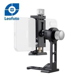 【Leofoto 徠圖】720度旋轉手機支架相機專用套組PC-90Ⅱ+PS-1(彩宣總代理)