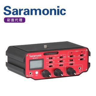 【Saramonic 楓笛】雙通道相機/攝影機LCD螢幕混音器 SR-AX107(彩宣公司貨)
