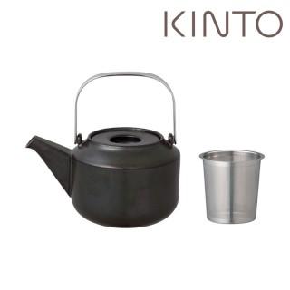 【Kinto】LT茶壺600ml- 黑