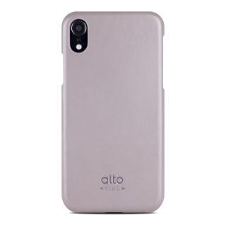【alto 奧沰】iPhone XR 6.1吋皮革保護殼 Original - 礫石灰(iPhone 保護殼)