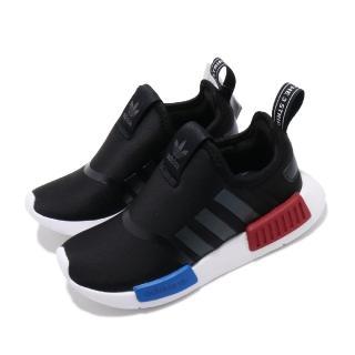 【adidas 愛迪達】休閒鞋 NMD 360 流行款 運動 童鞋 愛迪達 三葉草 OG配色 親子鞋 大童 黑藍紅(EE6352)