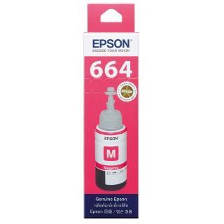 【EPSON】664 原廠紅色墨水罐/墨水瓶 70ml(T664300)