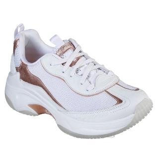 美國SKECHERS奢華真皮亞洲獨賣增高鞋