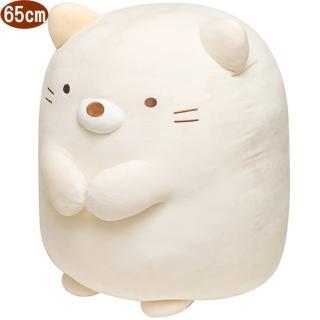 【TDL】角落生物絨毛娃娃玩偶貓咪款65公分 290352
