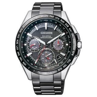 【CITIZEN 星辰】光動能 銀河巡航衛星對時鈦金屬限定款男錶-43.5mm(CC9015-62E)