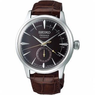 【SEIKO 精工】Presage調酒師動力儲存顯示機械錶(SSA393J1)