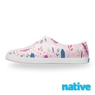 【native】JERICHO PRINT 女鞋(牛奶粉x北歐綠園)