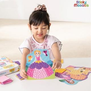 【Sticky Mosaics】馬賽克拼貼-公主世界(M)