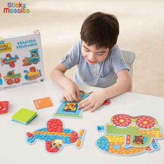 【Sticky Mosaics】馬賽克拼貼-交通工具(M)