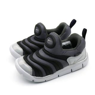 【NIKE 耐吉】NIKE DYNAMO FREE Y2K TD 黑灰-BQ7106001(幼童休閒鞋)