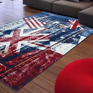 【Ambience】比利時Shiraz 現代地毯-英倫(120x170cm)