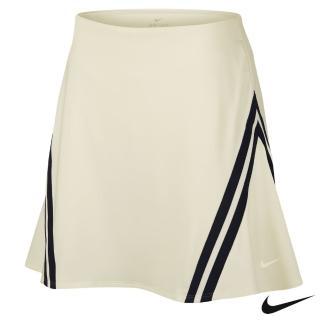 【NIKE 耐吉】Nike Dri-FIT UV Cheyenne Woods 女子高爾夫短裙 米白 AV3667-133