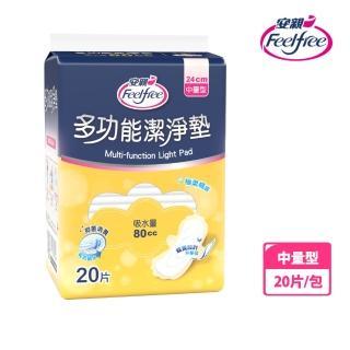 【安親】抑菌潔淨墊中量型80cc(20片/包