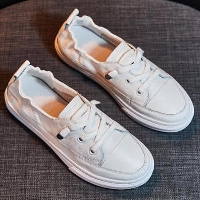 【Taroko】率性職人質感舒適雙層牛皮休閒鞋(白色全尺碼)/
