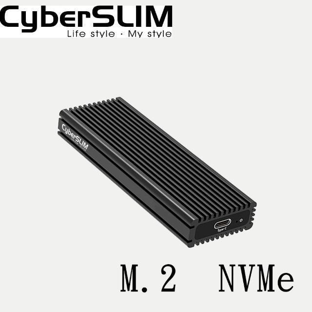 【CyberSLIM】加購品-M.2 PCIE 固態硬碟外接盒 NVMe(固態硬碟外接盒 M.2 pcie)