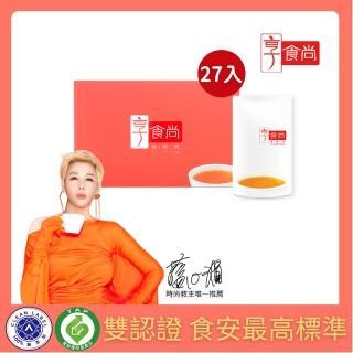 【享食尚】常溫滴雞精27入獨家禮盒組(45ml/入TVBS時尚教主藍心湄推薦)