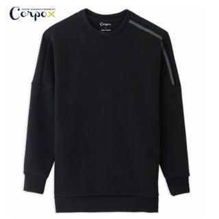 【Corpo X】厚磅大學T(黑)