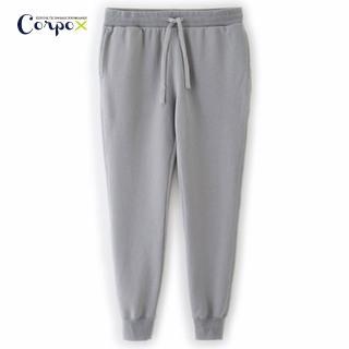 【Corpo X】女款發熱柔刷毛休閒褲(灰)