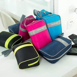 【E.City】買1送1-大容量多功能手腕收納包包中包(共2入)