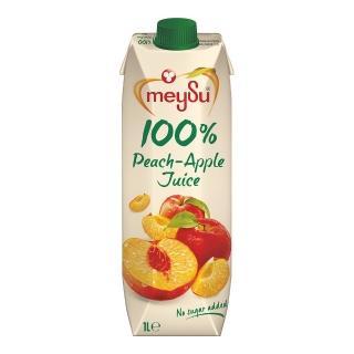 【meysu】美愫100%水蜜桃蘋果汁1000ML(吳鳳推薦)