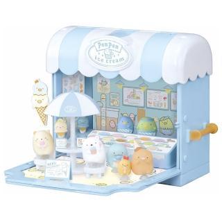 【TAKARA TOMY】角落生物 角落小夥伴冰淇淋商店(卡通 公仔)