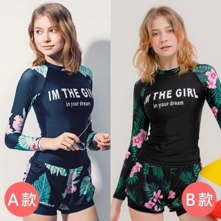 【Eclare & Miel】泳裝 泳衣 夏日陽光比基尼/防曬泳裝/連身泳裝(8款任選)