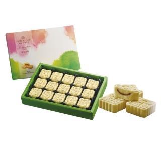 【一之軒】綠豆冰糕15入禮盒(綠豆.冰心紅豆餡.配茶小點)