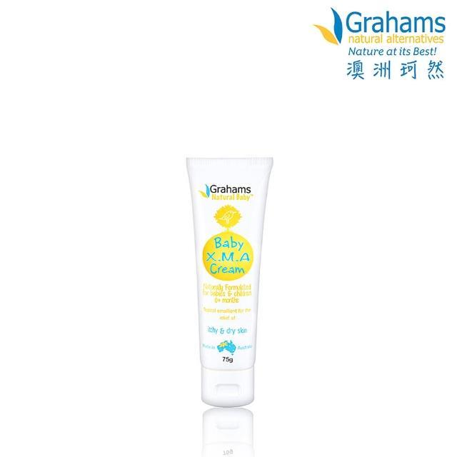 【Grahams 珂然】嬰兒異敏修護霜75g(修護霜)