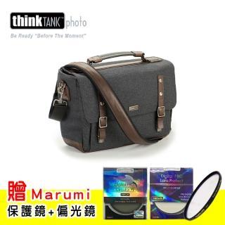 【ThinkTank創意坦克】尊爵系列經典單肩相機包-SG376(板岩灰L)