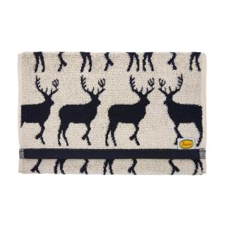 【Marushin 丸真】Anorak英倫設計款毛巾(麋鹿)
