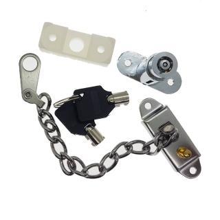 LL008 推窗安全定位鎖 推射窗鎖 防盜鏈 防盜鎖 鏈鎖 窗鎖 兒童鎖 防盜鎖(兒童安全鎖防墜鎖 紗窗)