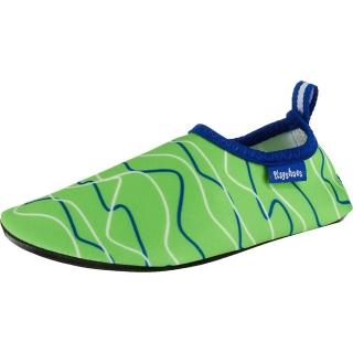 【德國Playshoes】抗UV水陸兩用沙灘懶人童鞋-海浪(認證防曬UPF50+兒童戶外涼鞋雨鞋運動水鞋)