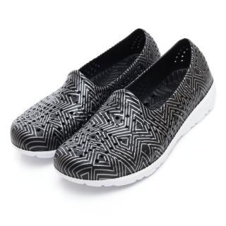【PONY】EVA輕量軟Q透氣水陸兩用洞洞鞋 涼鞋 拖鞋-女 四色